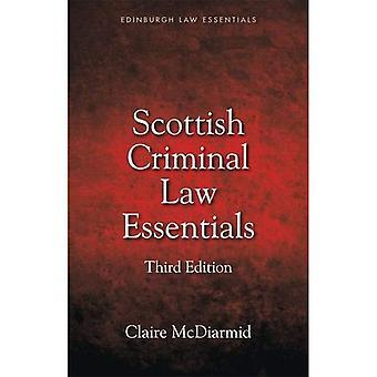 Skotsk strafferet Essentials (Edinburgh Law Essentials)