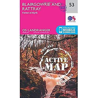 Blairgowrie & Forest of Alyth (OS Landranger Map)