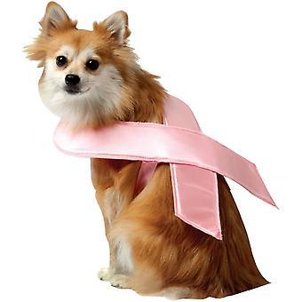 Pink Ribbon Pet Costume