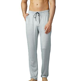Mey Men 65660-620 Men's Jefferson Light Grey Melange Pyjama Pant