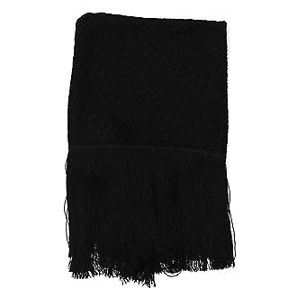 Missoni Black Cotton Scarf