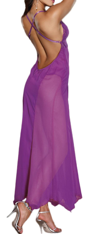 Waooh - Robe longue transparente Alph