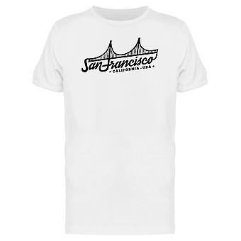San Francisco Usa T-Shirt Herren-Bild von Shutterstock