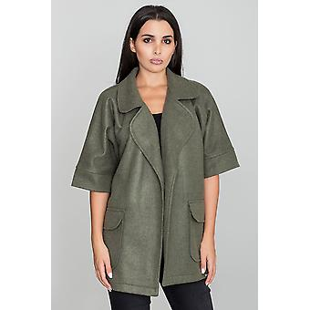 FIGL ladies jacket olive green one size