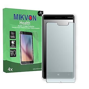 Nokia Lumia 830 Screen Protector - Mikvon Health (Retail Package with accessories) (reduced foil)