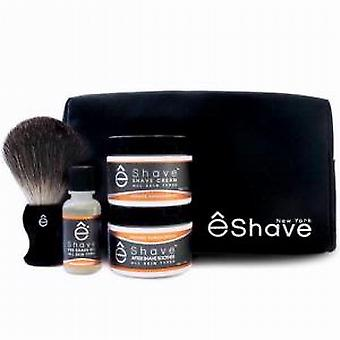 eShave orange Sandelholz Start Up Kit