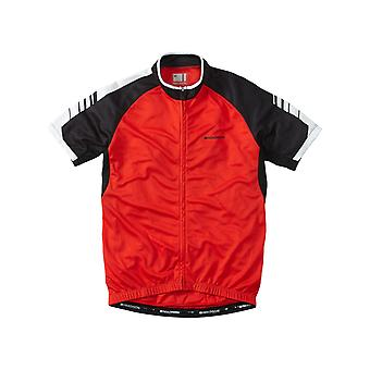 Madison Flame Red 2016 Peloton Short Sleeved Cycling Jersey