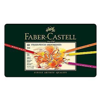 Faber-Castell Polychromos Colour Pencil 60 Tin