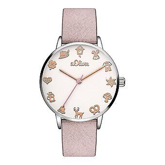 s. Oliver SO-3544-LQ relógio feminino