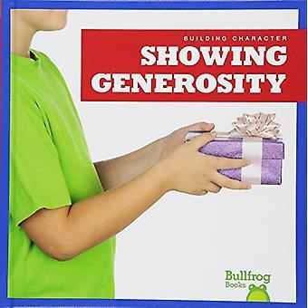 Showing Generosity by Rebecca Pettiford - 9781620318843 Book