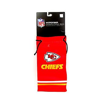 Kansas City Chiefs NFL Microfiber Glasses Bag