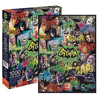 DC Comics Batman TV Collage 1000pc Puzzle