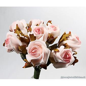Artificial Rosebud Bouquet