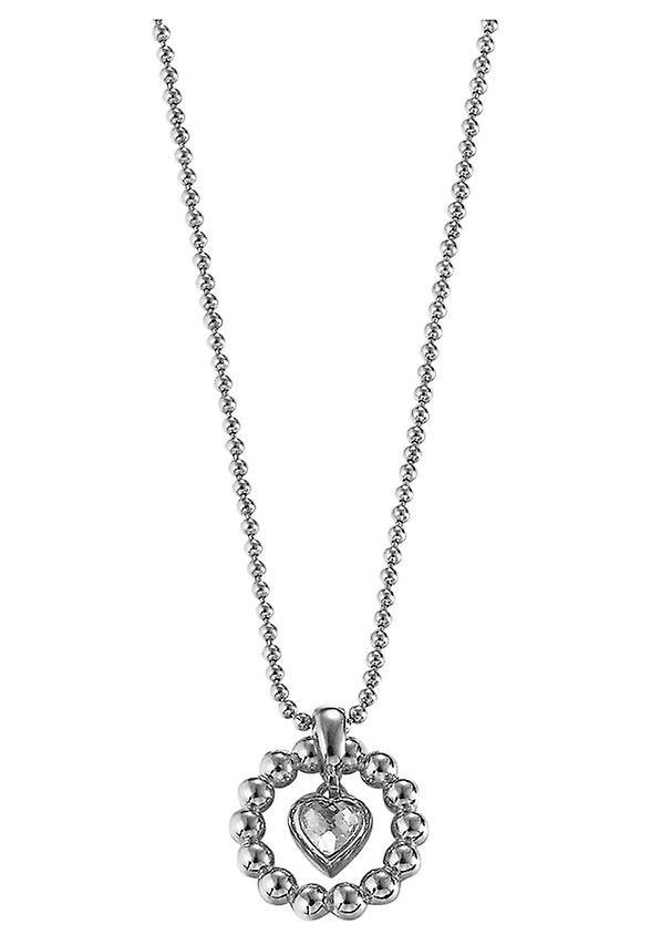Esprit Damenkette Pellet Heart Silver (ESNL92073A)