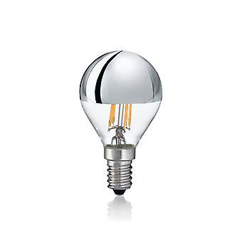 Ideale Lux Glühbirne Classic E14 4W Sfera Chrome