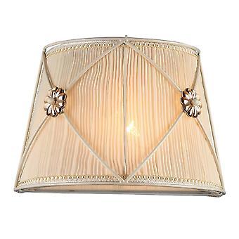 Maytoni Lighting Lea Elegant Sconce, White Gold