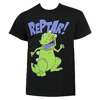 Nicktoons Rugrats Black Reptar Tee Shirt