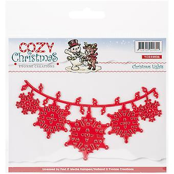 Find It Trading Yvonne Creations Die-Lights, Cozy Christmas