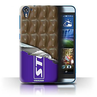 STUFF4 Case/Cover for HTC Desire 826/Wrapped Galaxy Wave/Chocolate