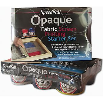 Speedball Opaque Fabric Screen Printing Starter Kit Sb4590