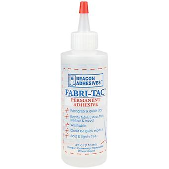Fabri Tac Permanent Adhesive 4 Ounce Ft4d