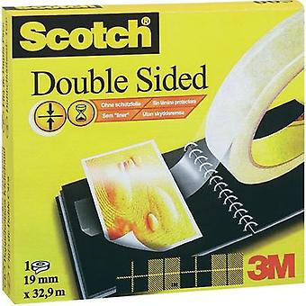 Double sided adhesive tape 3M Scotch® 666 Transparent (L x W) 33