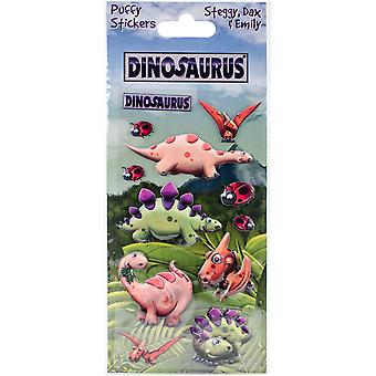 Dinosaurus Puffy Stickers-Steggy DCSTK-8