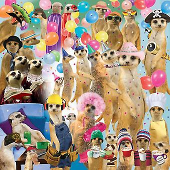 Otter House - Meerkat Madness - 1000 Piece Jigsaw Puzzle