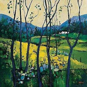 Davy Brown print - Springtime, Galloway
