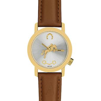 Akteo Horse Rider Gold (1) (Fashion accesories , Watches , Analog)
