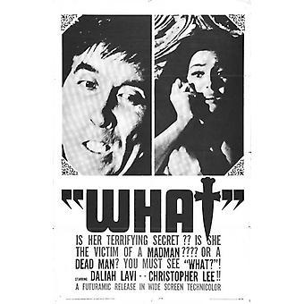 Pisken og krop film plakat (11 x 17)