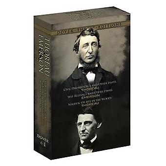 Thoreau and Emerson Boxed Set by Dover