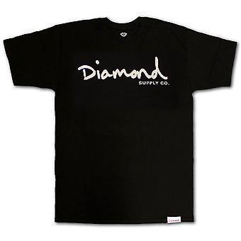 Diamond Supply Co. OG Script T-shirt noir blanc