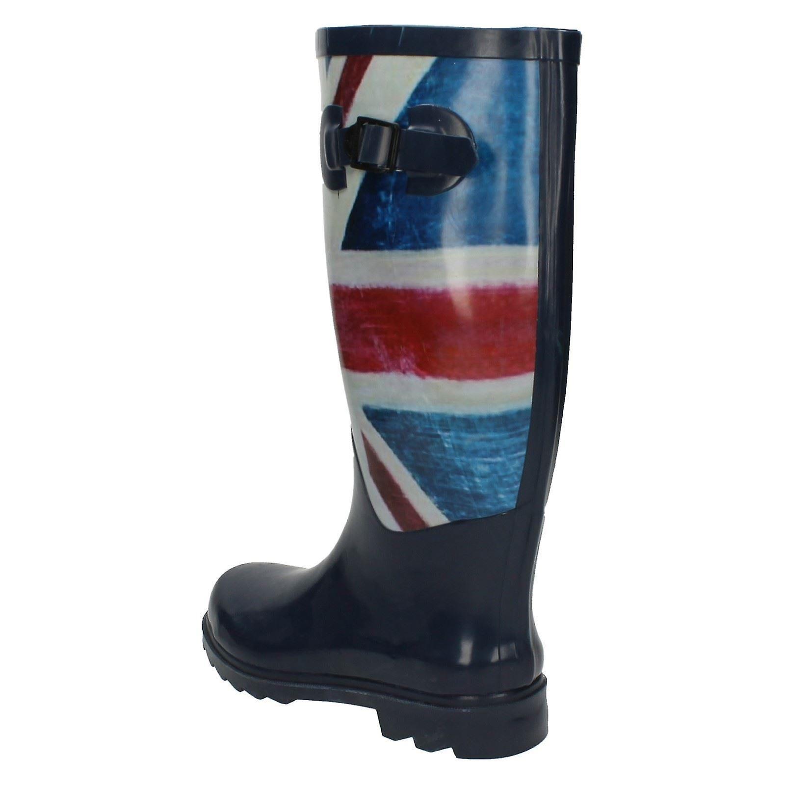 Flag Spot Womens Design Union Boots Wellington On 1f7qnx8td