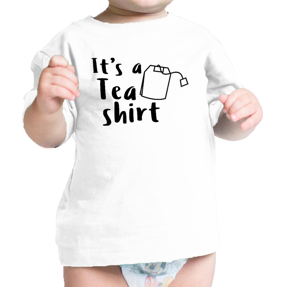 Het is een thee Shirt Wit Baby Baby Tee grappige Design Baby T Shirt