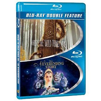 Where the Wild Things Are/Neverending Story [BLU-RAY] USA import