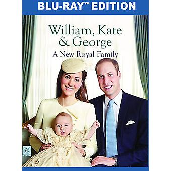 William & Kate & George: Importer des USA A nouvelle famille royale [Blu-ray]