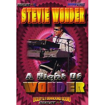 Stevie Wonder - nat spekulerer på [DVD] USA import