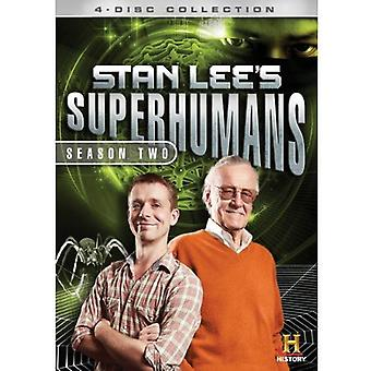 Stan Lee's Superhumans: Season 2 [DVD] USA import