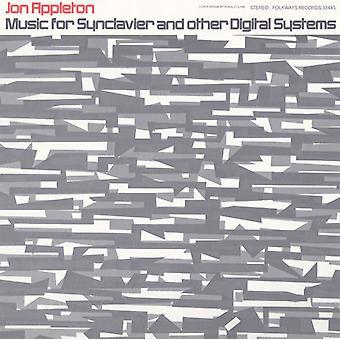 Jon Appleton - musik för Synclavier & andra digitala system: med [CD] USA import
