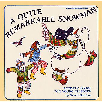 Sarah Barchas - Quite Remarkable Snowman: Activity Songs for Young [CD] USA import