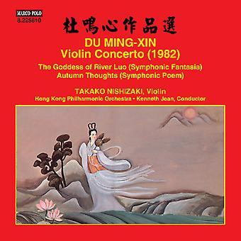 Ming-Xin / Nishizaki / Hong Kong Philharmonic Orch - Violin Concerto [CD] USA import