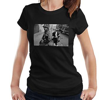 Eric B And Chuck D On The Streets Of New York 1980s Women's T-Shirt