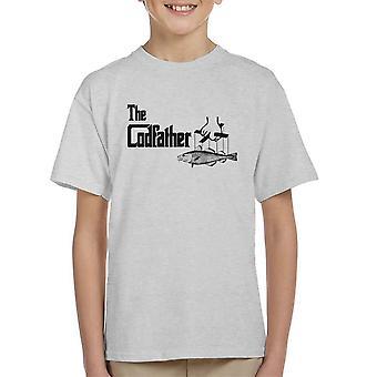 Camiseta el padrino Codfather estilo infantil
