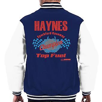 Haynes marca Sparkford Raceway combustible superior Varsity chaqueta de