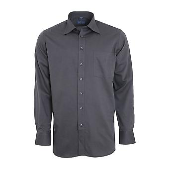 DERBY OF SWEDEN shirt men's Pinstripe Shirt grey Jersey
