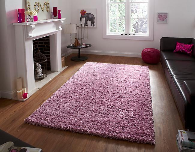 Vista - Plain 2236 Pink Pink Rectangle Rugs Plain/Nearly Plain Rugs