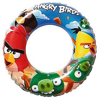 Bestway Angry Birds float 56 Cm. (Outdoor , Pool And Water Games , Cuffs And Floats)