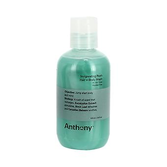 Anthony Logistics styrkende Rush hår + Body Wash 100ml