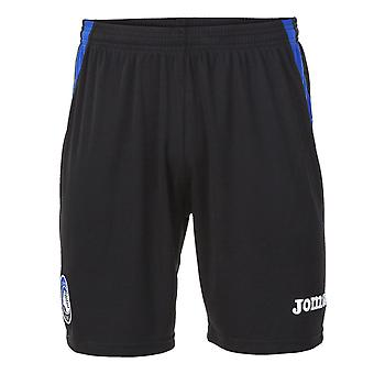 2017-2018 Atalanta Joma Home Football Shorts (Black)